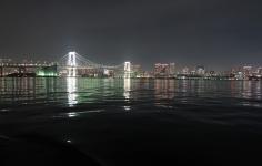 レインボーブリッジ(東京港湾風景)