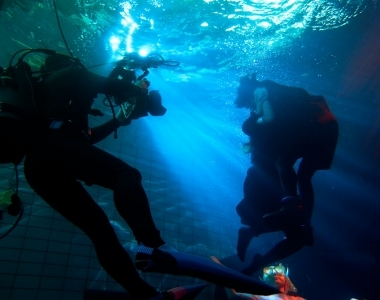 ジール撮影事業部 水中撮影 水中スタント&タレントケア