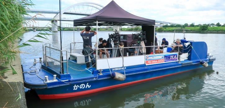 船舶撮影・海上撮影 カメラ船|ジール撮影事業部