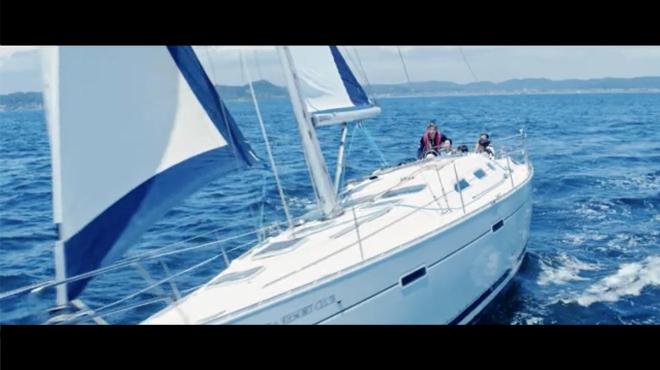 大和証券グループ ヨット 船舶撮影|ジール撮影事業部