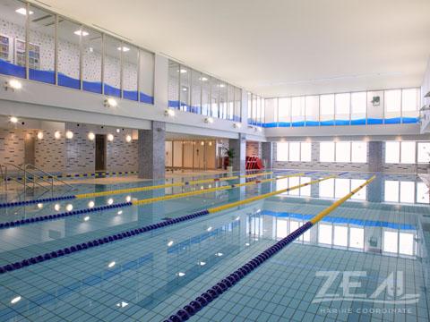 屋内プール 水中撮影 ロケーション|ジール撮影事業部