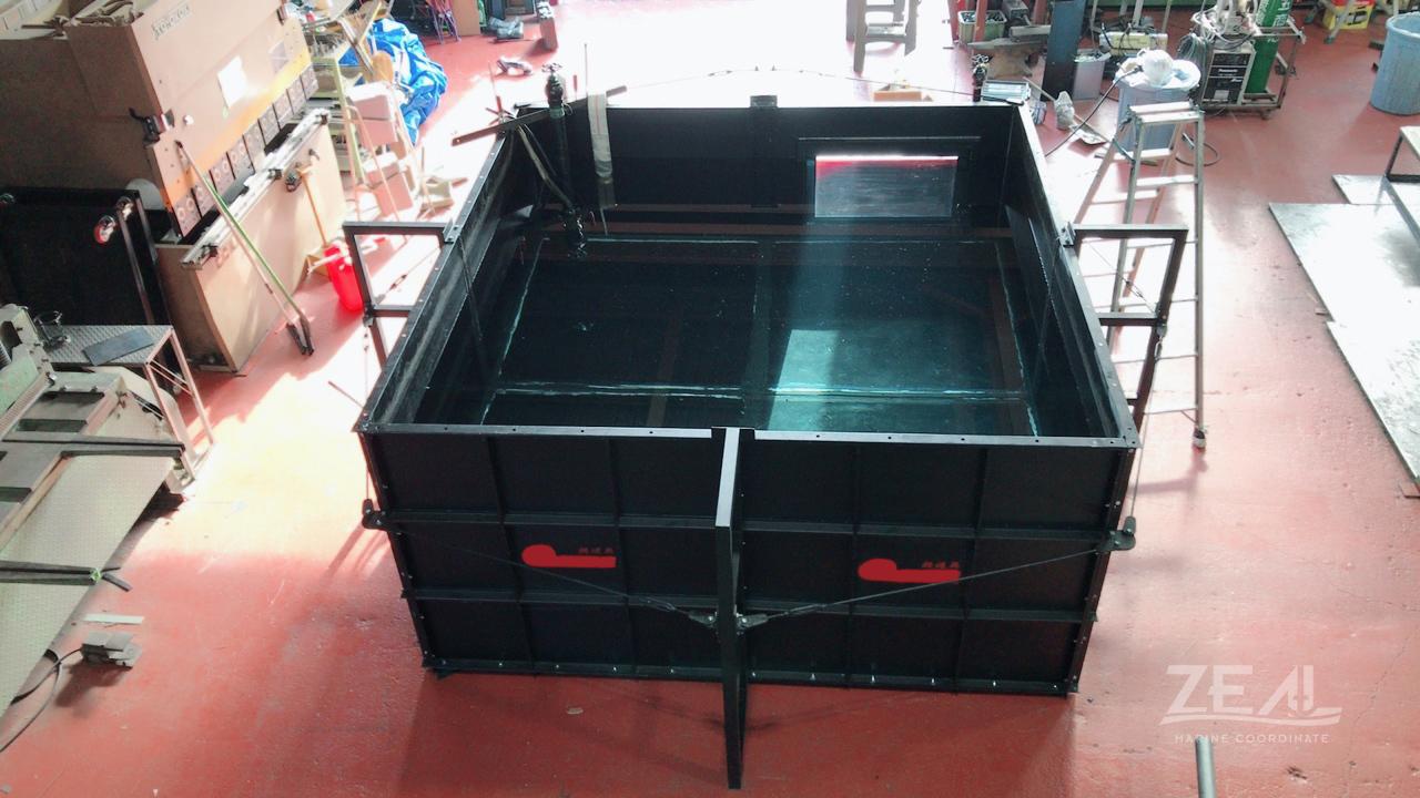 組立式プール 移動式プール 水槽 レンタル|ジール撮影事業部