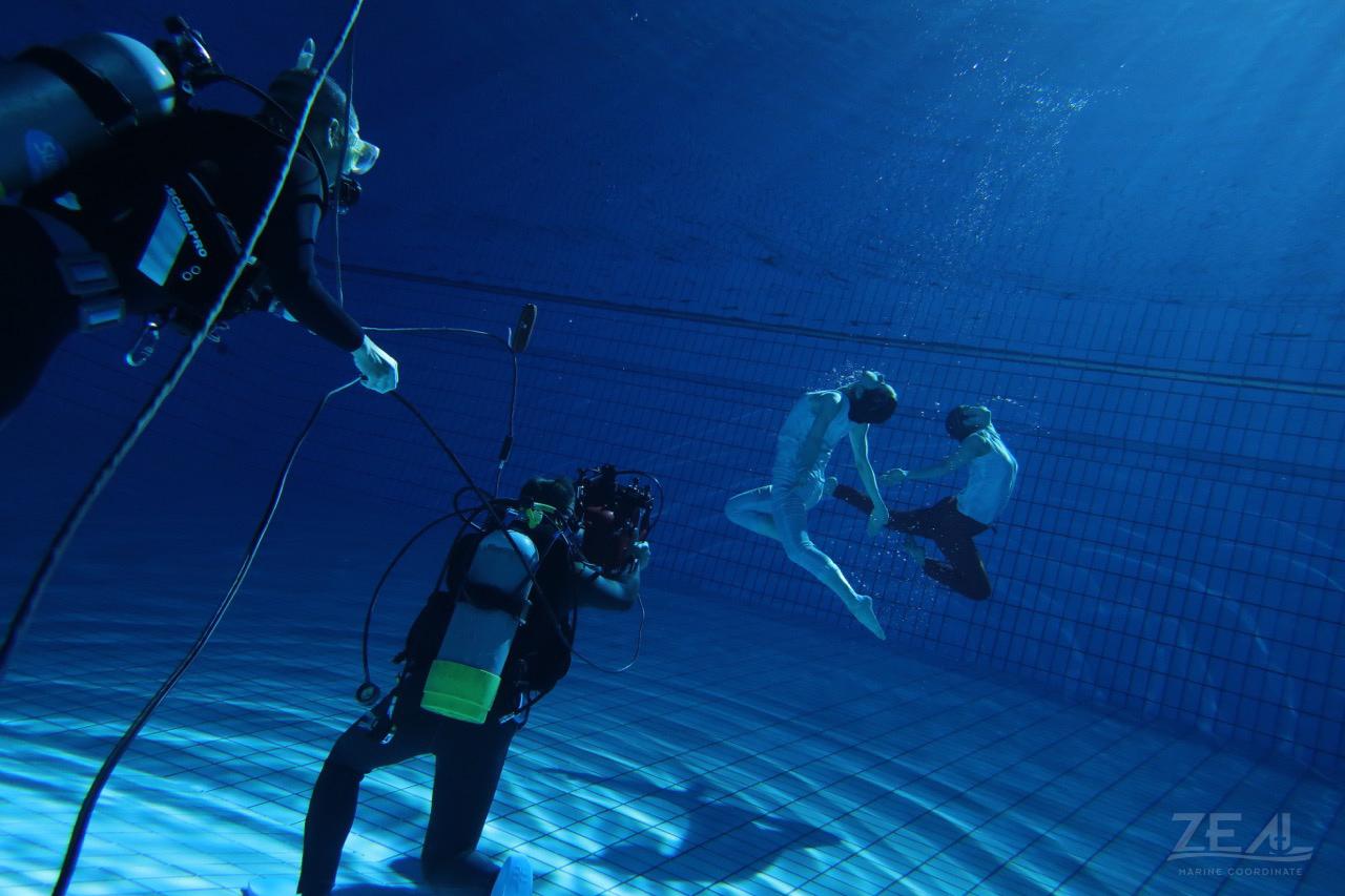 水中撮影 水中カメラマン|ジール撮影事業部