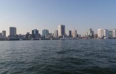 芝浦(東京港湾風景:夕景)