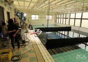 縦 16.4m × 幅 6.1m × 水深1.1~5.1m ダイビングプール 水中撮影 ロケーション |ジール撮影事業部