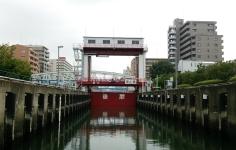 扇橋閘門(東京運河・閘門)