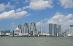 晴海埠頭(東京港湾風景)