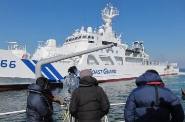 カメラ船を使用した映画撮影 |ジール撮影事業部