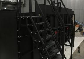 ラダー 組立式プール 移動式プール 水槽 レンタル|ジール撮影事業部