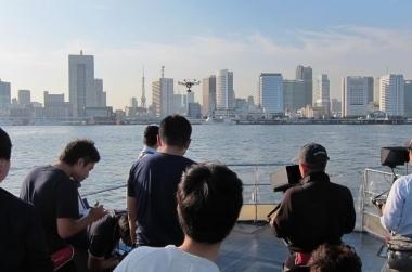 ドローン撮影 カメラ船 海上撮影|ジール撮影事業部
