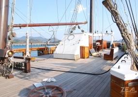 劇用船 大型帆船 |ジール撮影事業部